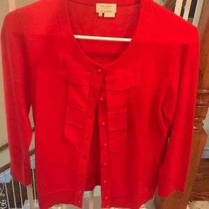 kate spade Sweaters - Kate Spade Sweater Holiday  RED size M